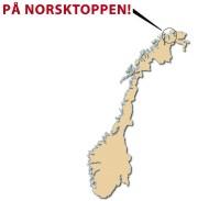 Pa norsktoppen kart  1