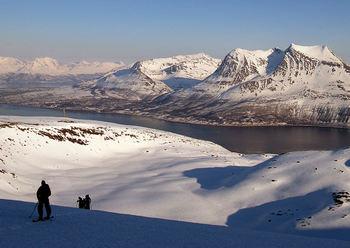 Sør på Kvaløya (foto: Bo Eide)