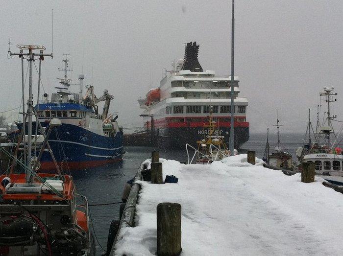 MS Nordkapp i Alta
