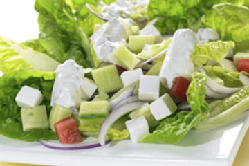 salat med feta
