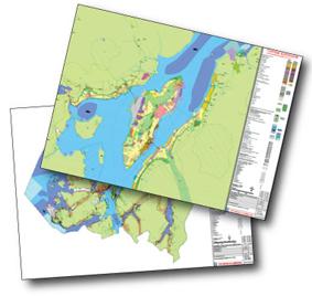 Overordnet plan for distriktet og byområdet