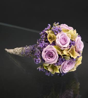 Lilla tonar brudebukett