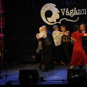Ole Gjerde og finalister dans sr