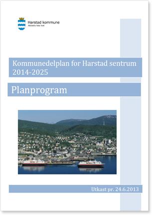 Forside planprogram sentrumsplan