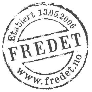 Fredet Logo koksgrå