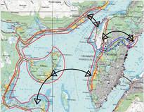 Kart - Transportnett Tromsø