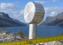 Grensemerke i Ersfjorden