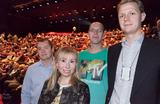 IKT-rådgiver Rolf Erik Østerås, Unni Pedersen fra Dragonmind, IKT-rådgiver Lars Gimse og politisk rådgiver Andreas Willersrud.