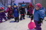 Gode uteaktiviteter for barnehageungene.