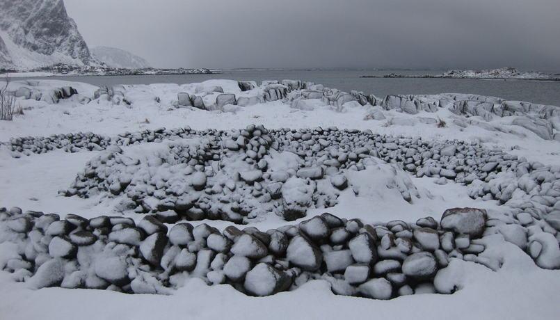 Snø og hav