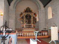 Herøy kirke altertavle