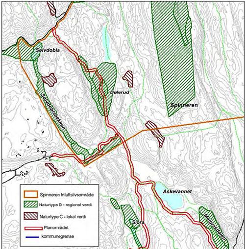 Kart planforslag Spinneren verneområde 1.png