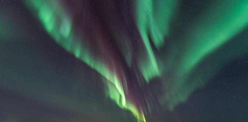 Aurora borealis in Alta