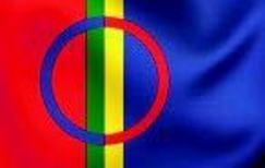 Det samiske flagget.