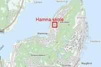 Trafikksikkerhet ved Hamna skole.