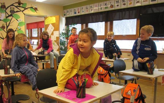 Barnetrinn klasserom