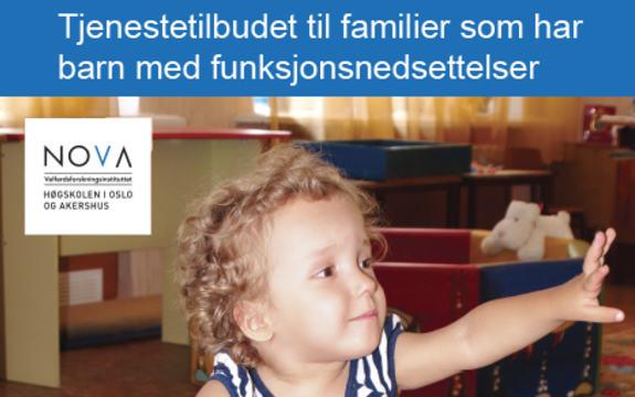 Ingressbilde til artikkel om Tjenestilbudet til familier som har barn med funksjonsnedsettelser