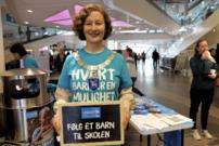Ordfører Kristin Røymo skal selv være bøssebærer.