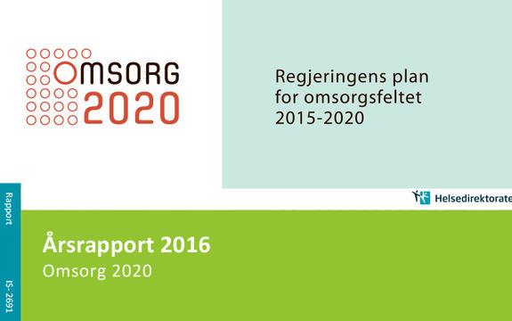 Ingressbilde til Årsrapport 2016 for Omsorgsplan 2020