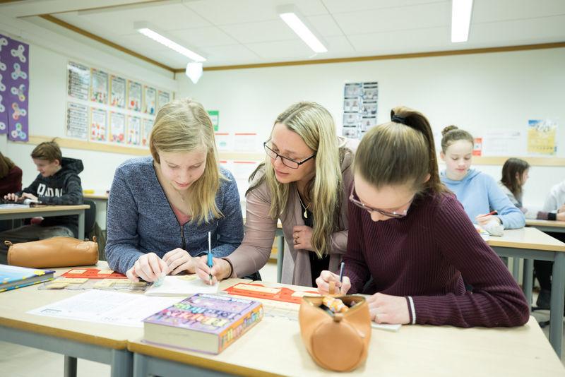 Ungdomsskolene i Harstad skal gjennomføre en ny undersøkelse blant elevene i regi av Ungdata. Illustrasjonsbilde. Foto: Øivind Arvola