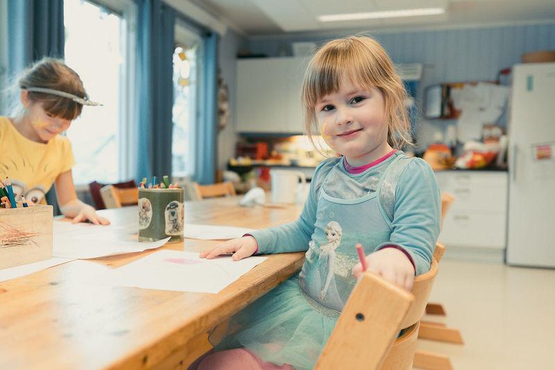 Fra Hagebyen barnehage. Foto: Øivind Arvola