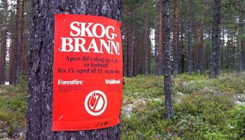 skogbrannfare