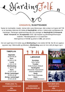 HardingFolk Kinsarvik Endeleg Plakat (6)