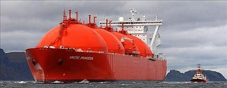 MT Arctic Princess LNG-tankskip. Foto: Allan Klo