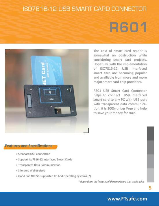 R601 brochure