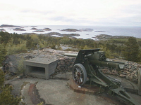 Kultur Kanon ved Utvorda kystfort med skjaergaard