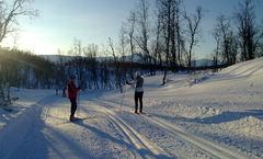 SIF Ski og SIF Trim håper at folk kan bidra til driften av tråkkemaskinen. FOTO: ODDGEIR SAGERUP