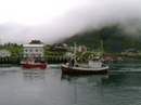 Båtene drar ut