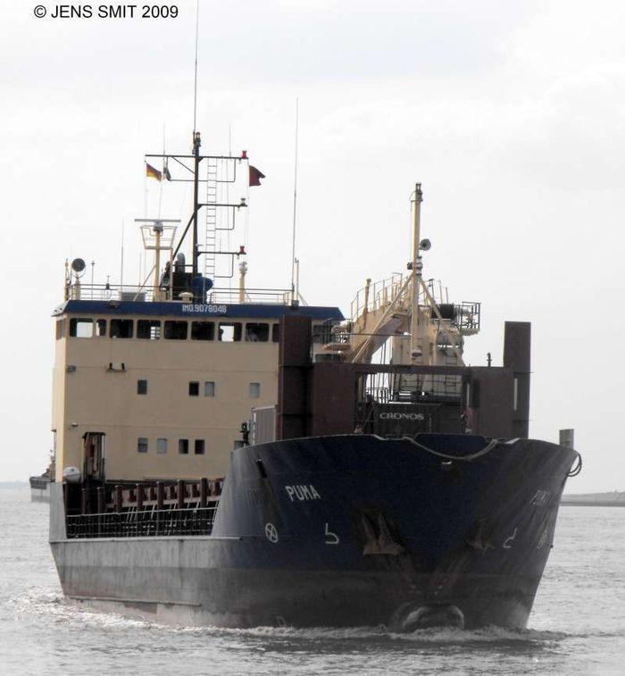 MS Puma frakter atomsøppel Murmansk