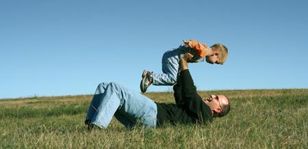 Far og barn