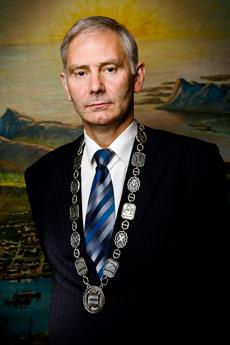 Ordfører Helge Eriksen