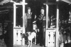 Adolf og Magnus Pettersen Dammen