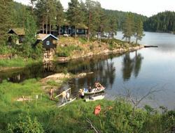 Solberghytta på odden nedenfor Bøvelstad