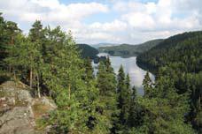 Utsikt over Lutvann. Foto: