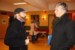 Sverre M Fjelstad og Ola Elvestuen