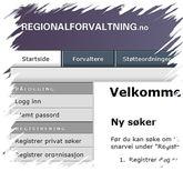 Regionalforvaltning
