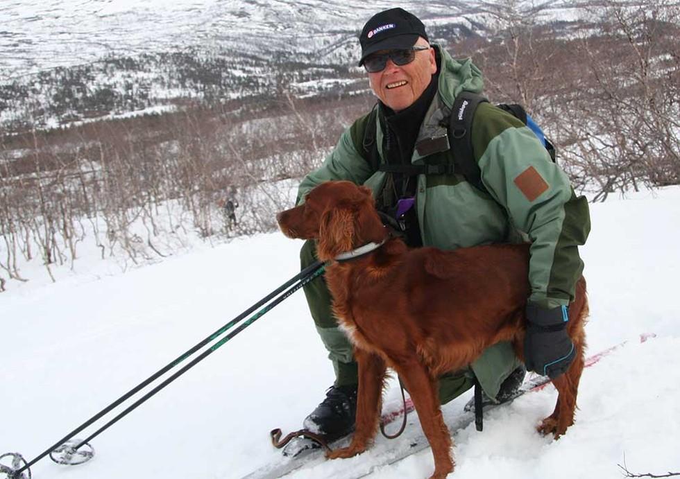 GULLMANN: Hans J. Sjåmo og Skillevollen