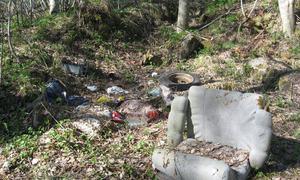 Søppel på Stangnes