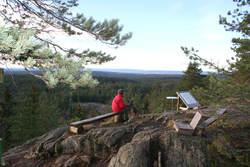 Tømmerås, det høyeste punktet i Ski.