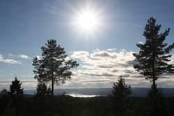 Utsikt mot Oslofjorden fra Østmarka