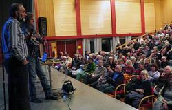 Johan Ellingsen, Leder ØV, ledet spørsmål-svar-runden etter foredrag av Petter Wabakken