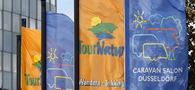 Duesseldorf, DEU, 25.08.2012. Der CARAVAN SALON DUESSELDORF ist die weltgroesste Messe fuer mobile Freizeit, zu der jedes Jahr mehr als 160.000 Besucher kommen. Insgesamt 570 Aussteller aus 25 Nationen praesentieren von Samstag, 25. August, bis Sonntag, 2