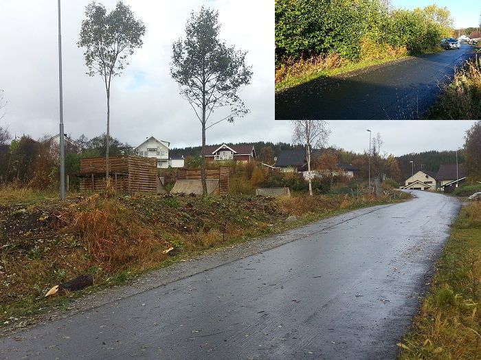 skrogveien før og etter