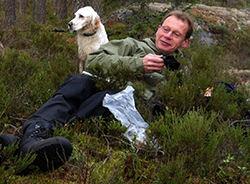Gjermund Andersen er styreleder for Naturvernforbundet i Oslo og Akershus og en av ildsjelene bak kartleggingen av eventyrskogene våre. Foto: Helga Gunnarsdottir