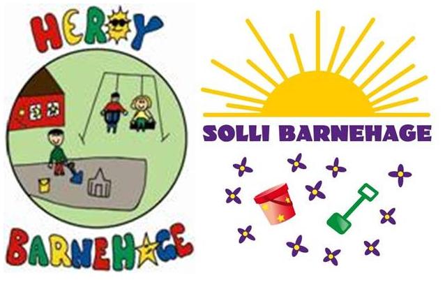 Herøy og Solli barnehager logo