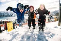 Illustrasjonsfoto fra Gyllenvang barnehage. Foto: Edvard Kristiansen